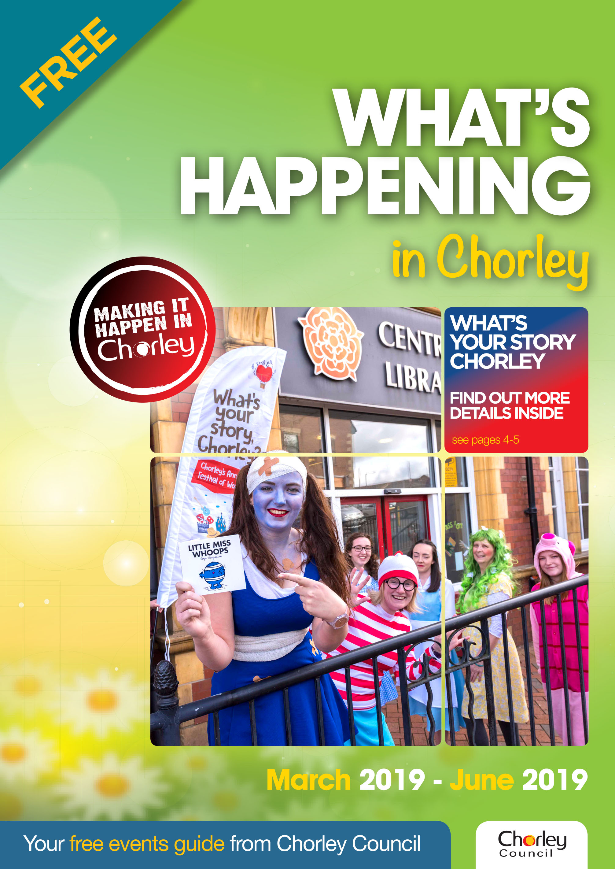 What's happening in Chorley